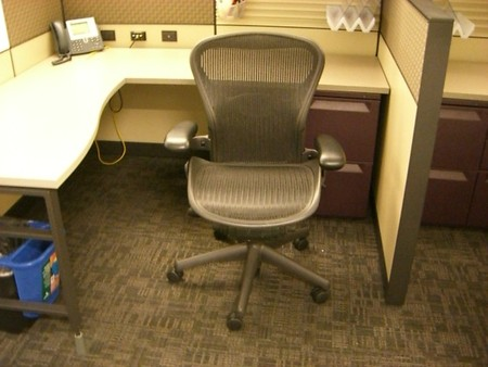 Used Herman Miller Aeron Chairs and Office seating shipped