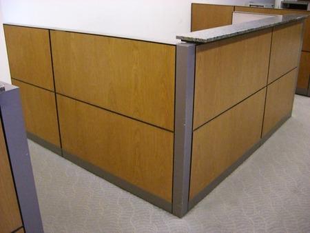 R1083   Steelcase Reception Desk