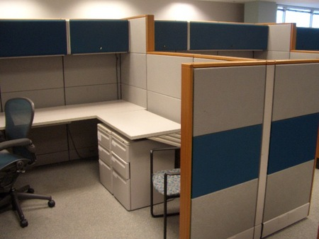 Herman Miller Ethospace Used Cubicles Conklin Office Furniture