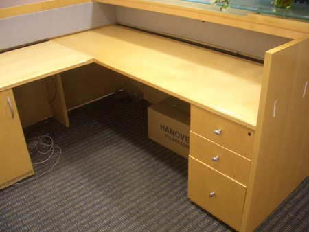 Geiger Reception Desk Conklin Office Furniture