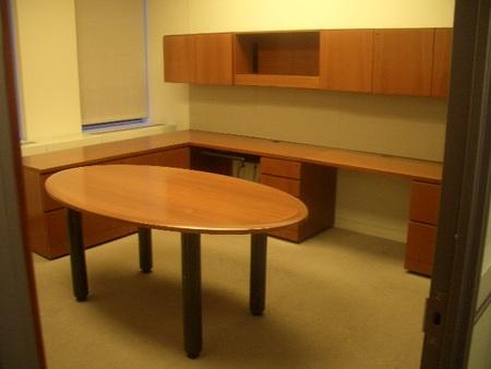 Knoll Reff Private Desk Sets Conklin Office Furniture