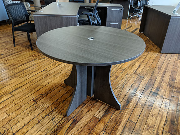"T12082 - SKYLINE  - 36"" Round Table Top Deluxe"