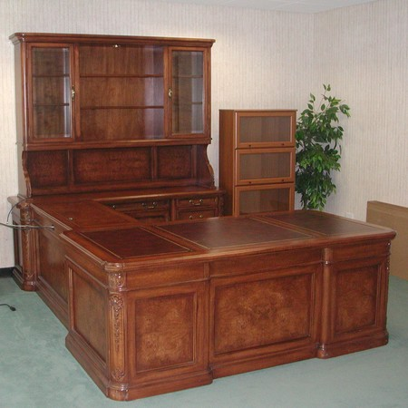 Antique Desk Set - Antique Desk Set - Conklin Office Furniture