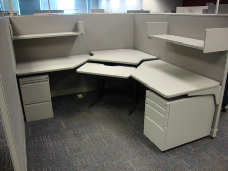 Haworth Used Cubes Conklin fice Furniture
