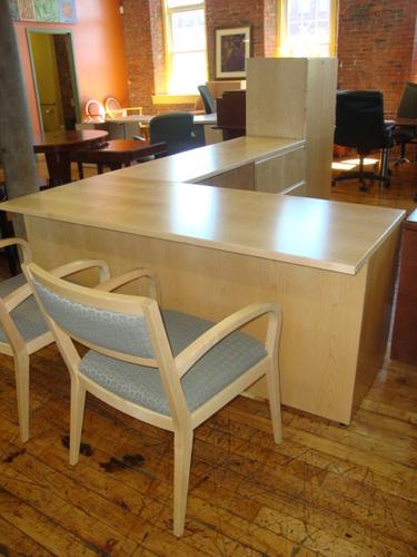 Knoll Reff L Shape Desk Sets Conklin Office Furniture