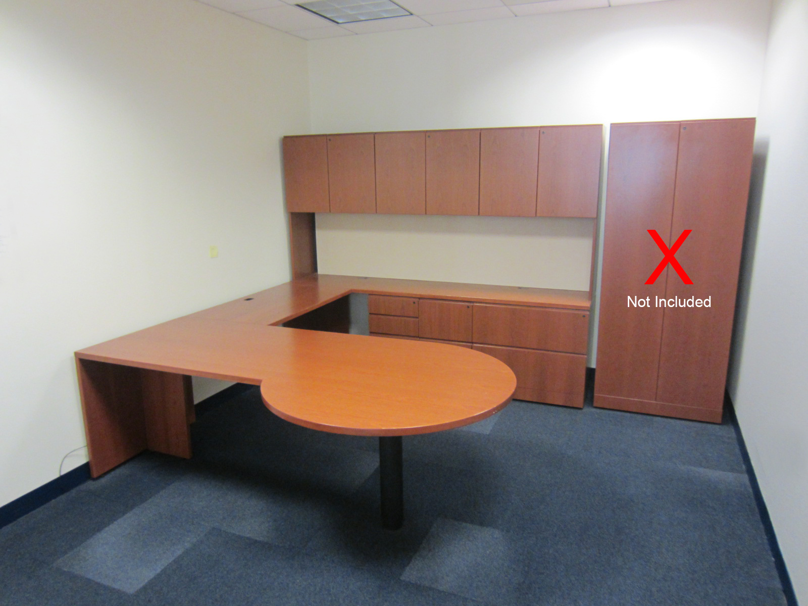 D12038C - Knoll U-Shape Desk Sets