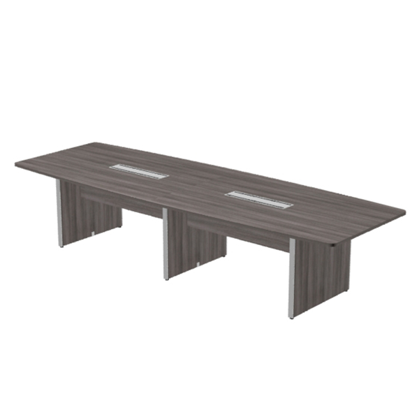 "T12080 - SKYLINE  - 144"" x 48"" Conference Table Deluxe"