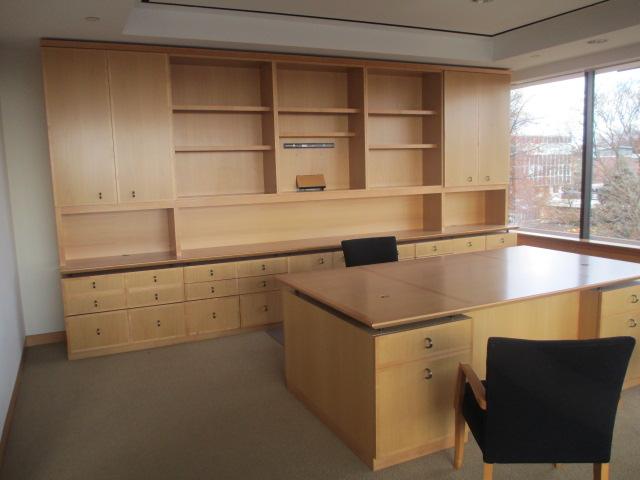 Geiger Executive Desk Set Conklin Office Furniture