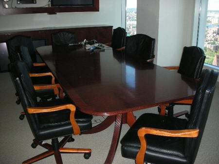 Traditional conference table eco friendly office for 10 ft conference room table
