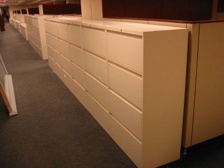 F238 - Steelcase 4 Drawer Files