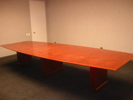 T264 - Conference Table with Matching Credenza