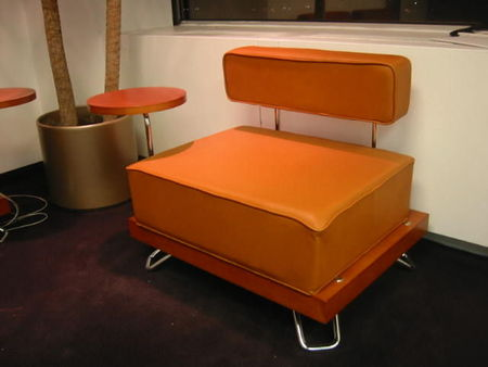 Steelcase Modern Leather Reception Seating Conklin