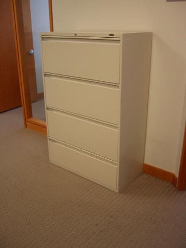 F536 - Global 4 Drawer Filing Cabinets
