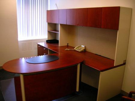 Halcon Wood Office Desks Conklin Office Furniture