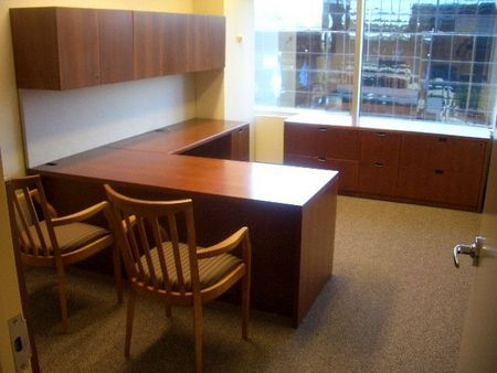 Steelcase Executive L-Shape Modular Desk Sets - Conklin Office ...