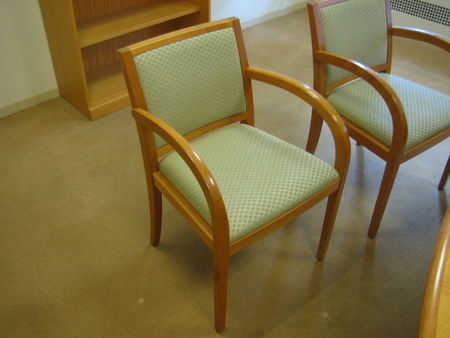 C864 - Geiger Wood Side Chairs