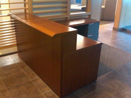 Steelcase Avenir Reception Desk Conklin Office Furniture
