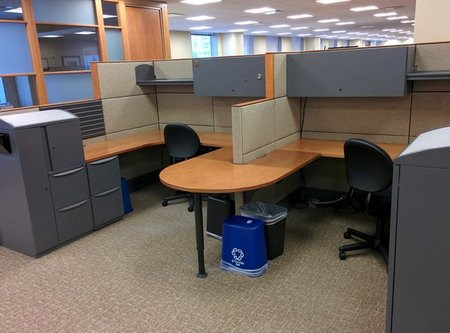 Haworth Used Cubicles Conklin fice Furniture