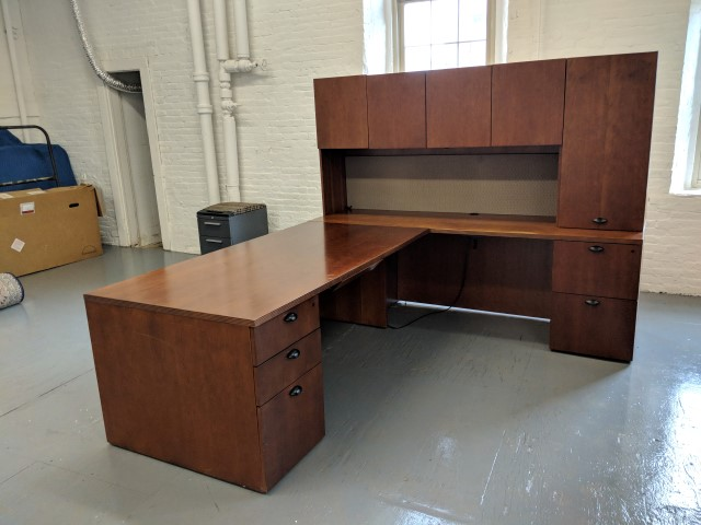 Kimball L Shape Desk D12104 Conklin Office Furniture