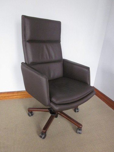 Keilhauer Leather Conference Chairs