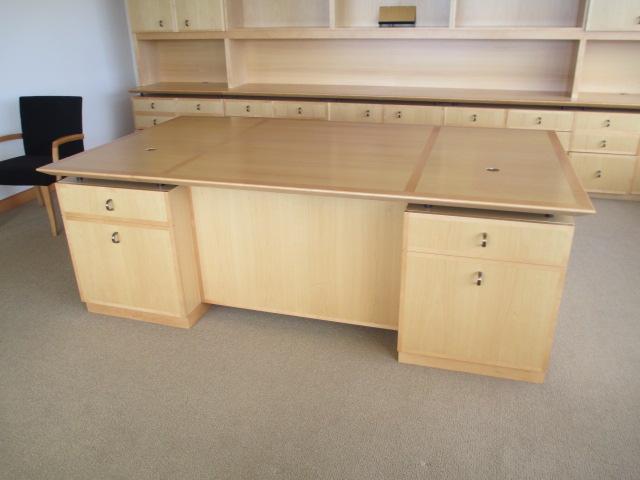 Geiger Executive Desk Set Conklin fice Furniture