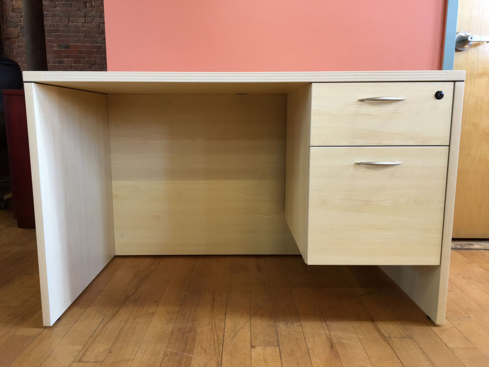 D6073C - New 48 X 30 Maple Desk by Office Star