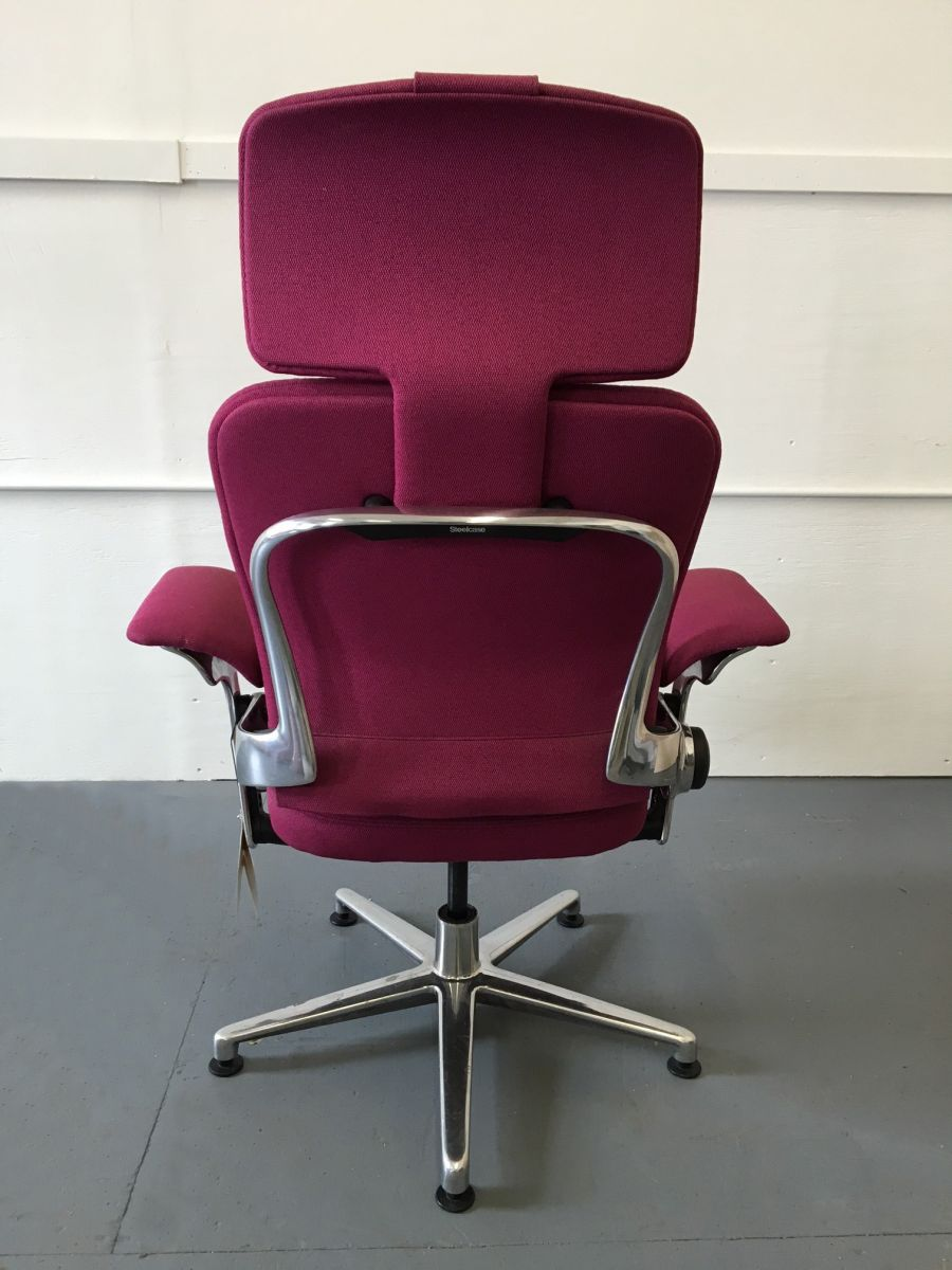Steelcase Leap Work Lounge Fuchsia R6075c Conklin