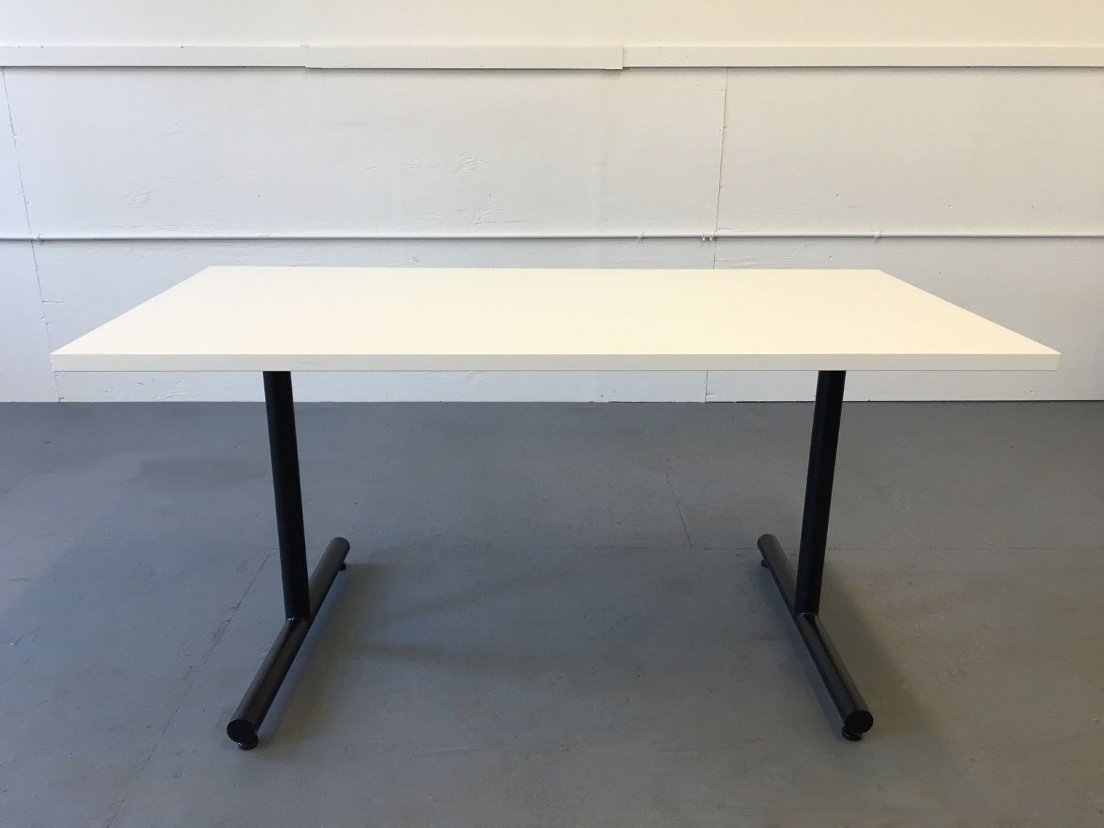 X White Laminate Conference Table Conklin Office Furniture - 30 conference table