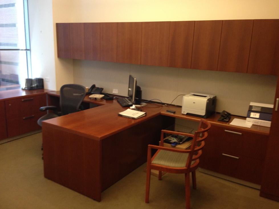 D6053c Steelcase Executive Desk Sets