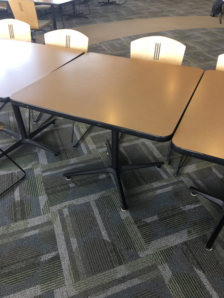 CD6018C - Leland International Lunch Tables