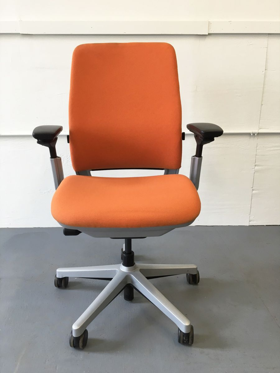 Steelcase Amia Task Chair Orange C61155c Conklin