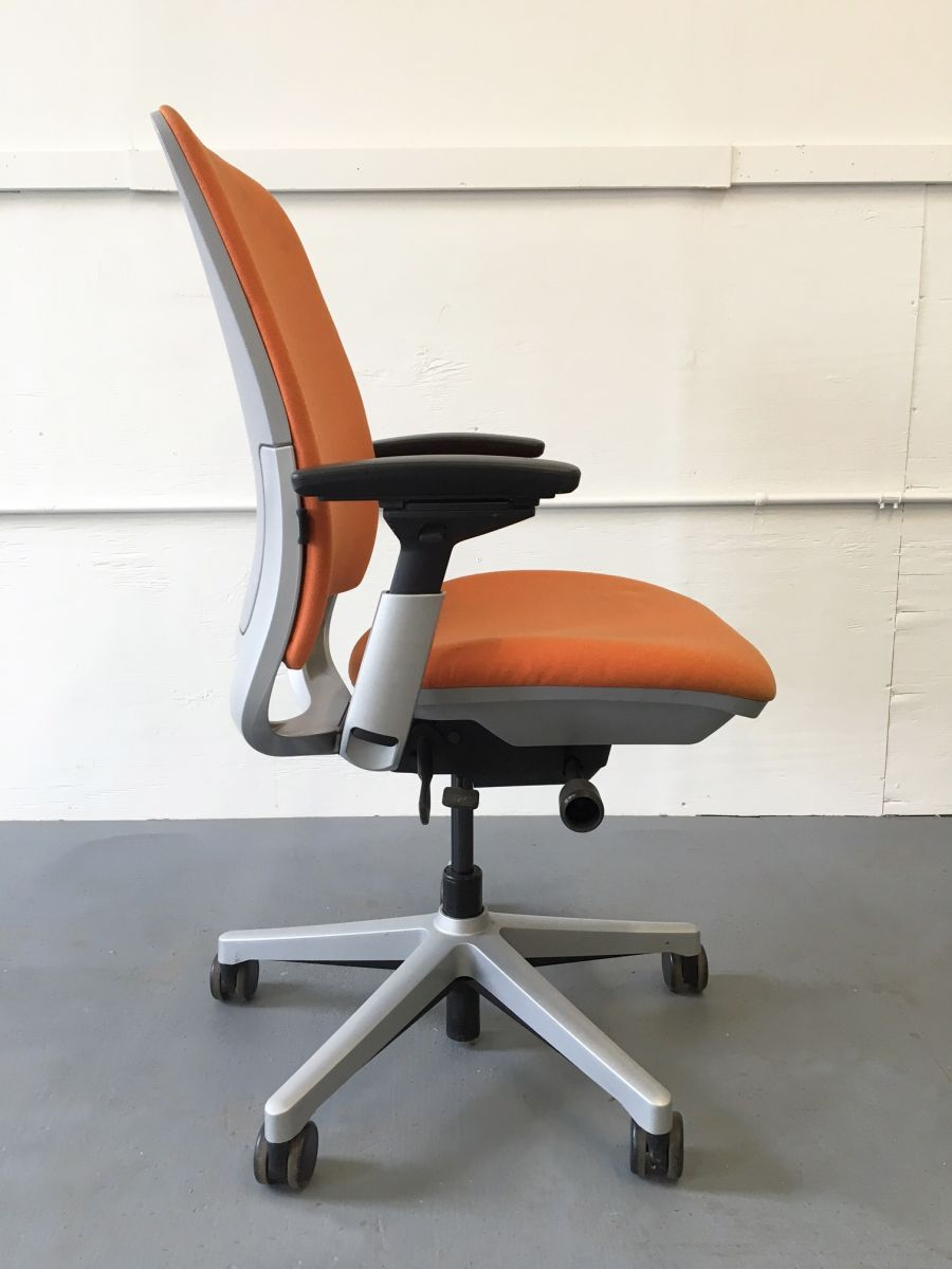 Steelcase Amia Task Chair Orange C61155c Conklin
