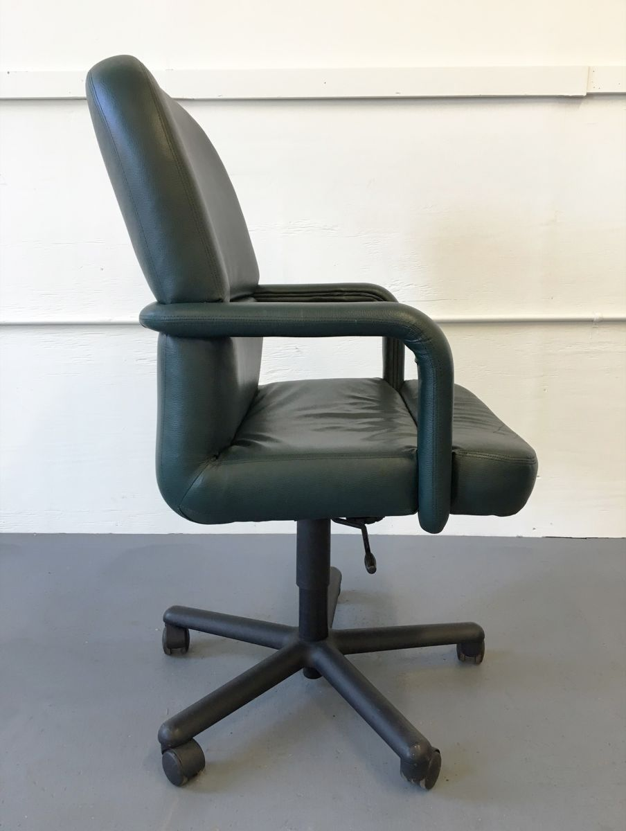 Leather fice Chair by Brayton Green