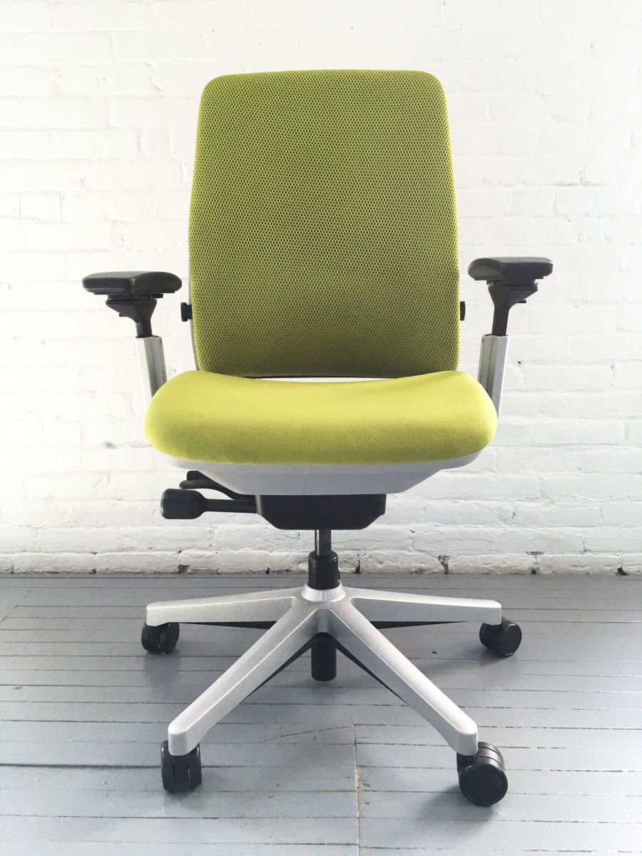 amia steelcase chair. c61166c - steelcase amia 3d task chair green