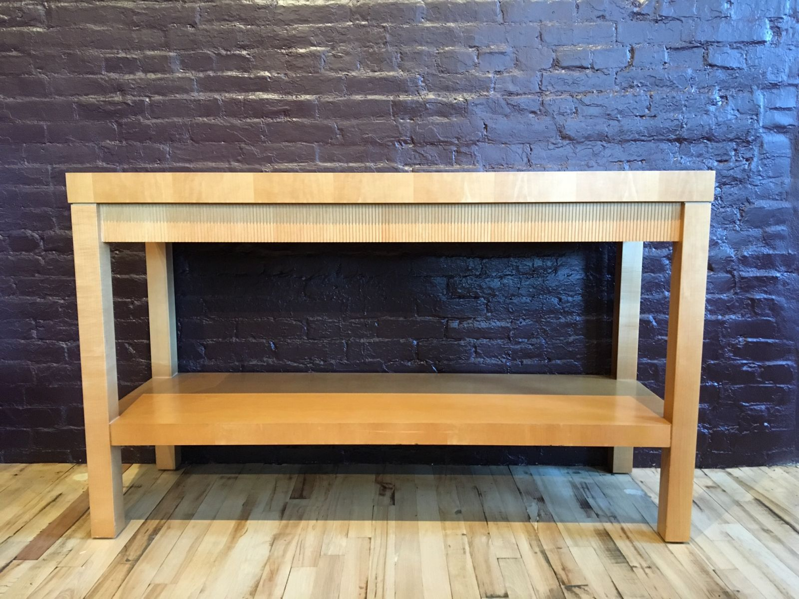 R6087C   Maple Console Table By HBF