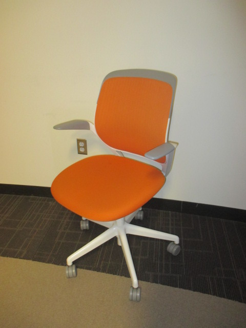 Orange office furniture Modern Medical Office Lushome Steelcase Cobi Chairs C61317c Conklin Office Furniture