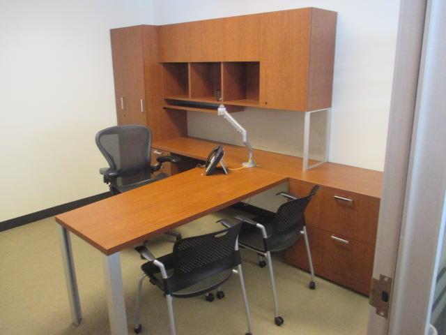 D12078C - Steelcase Laminate Desk Sets