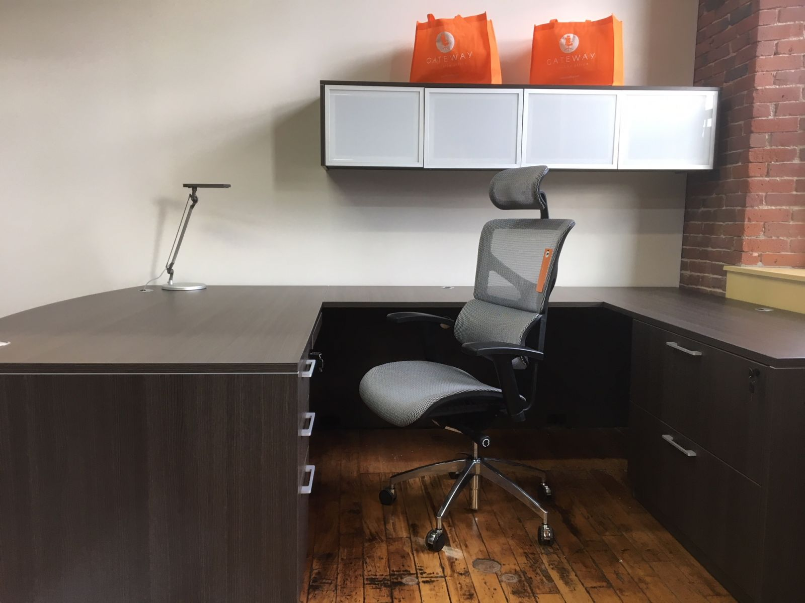 D12067 - SKYLINE - Executive U-Desk - Greylock
