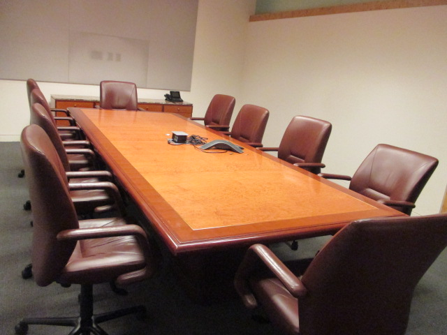 Gunlocke Conference Table Used Conference Tables MA CT NJ NYC - Used office furniture conference table