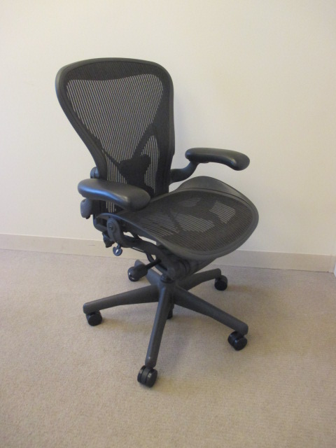 C61441 - Herman Miller Posture Fit Aeron Chairs