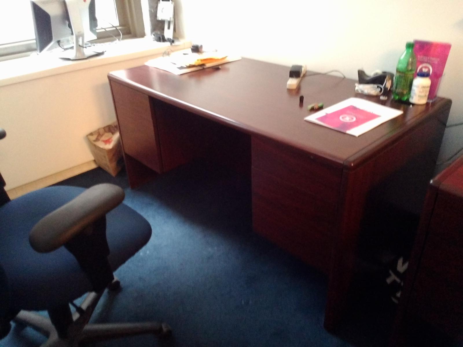OFS Double Pedestal Desk Conklin fice Furniture