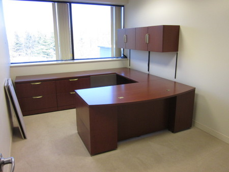 Used Knoll Reff Desk Sets And Private Office Furniture