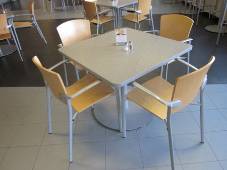 Steelcase Cafe Table And Chairs Conklin Office Furniture