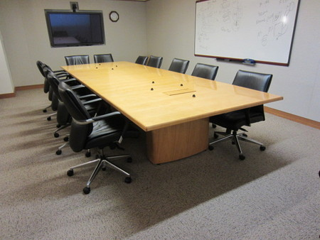 Gunlocke Conference Table Used Conference Tables MA CT NJ NYC - Conference table accessories