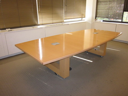 Boat shaped large conference table office conference for 10 ft conference table