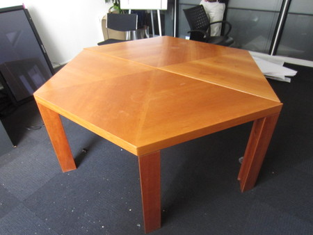 Hexagonal Meeting Table Conklin Office Furniture - Hexagon conference table