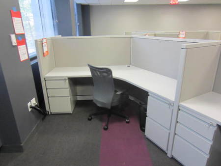 Remanufactured Steelcase Avenir Cubicles W1908 Conklin