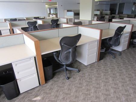 Herman Miller Ethospace Cubes Conklin Office Furniture