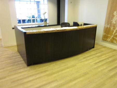 Two Person Reception Desk Conklin Office Furniture