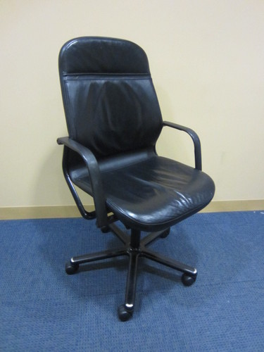 C3705C   Vecta Leather Chairs
